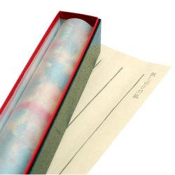 makimono芳名帳(試し書き紙)