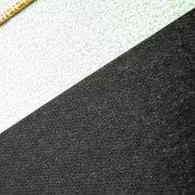 細かな布目模様の黒台紙